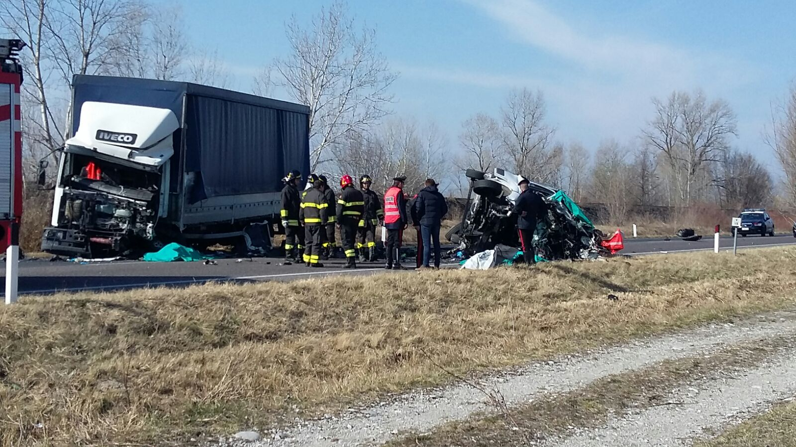 GRAVE INCIDENTE: TRE MORTI SULLA CIMPELLO SEQUALS