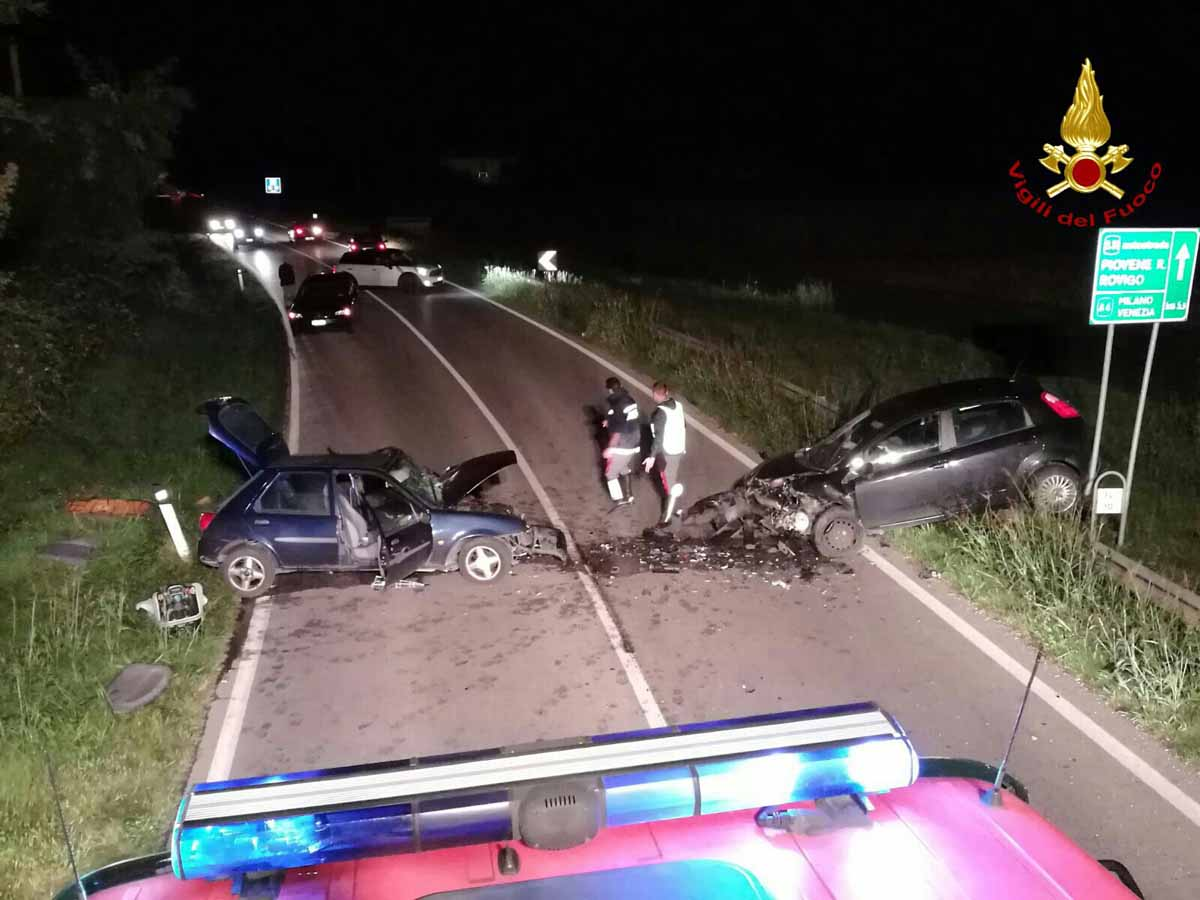 INCIDENTE A ROVOLON (PD): TRE FERITI