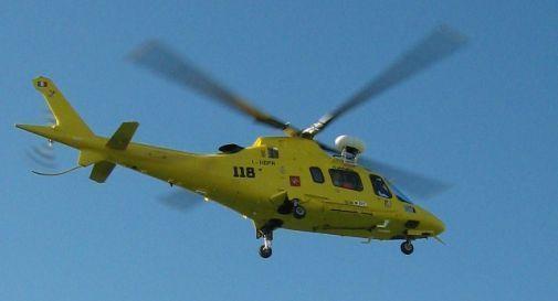 Elicottero Elisoccorso : Tragedia nell aquilano elicottero del suem m si